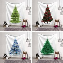 Новая Рождественская елка Декор настенный гобелен Новогодняя