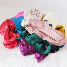 100% Pure SILK Remnants 500G/lot Silk pieces/scrap for sewing craft/handmade-Random kinds silk fabric/Random Color/Mommes/Shape