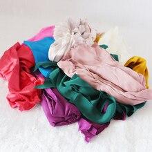 100% czysty jedwab resztki 500 g/partia kawałki jedwabiu/złom na krawiectwo/handmade losowe rodzaje tkaniny jedwabne/losowy kolor/Mommes/kształt