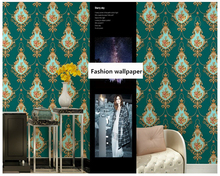beibehang wall paper European luxury three-dimensional garden embossed large flower bedroom sofa background wallpaper
