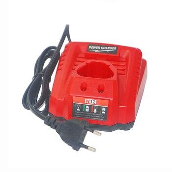 2 Pack 12V 2000mAh M12 48-11-2410 Bateria + carregador para Milwaukee 48-11-2420 48-11-2401 48-11-2402 REDLITHIUM Ferramenta sem fio 1