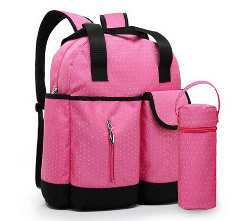 New fashion mummy bag backpack portable multi-function large volume waterproof pregnant mother package