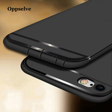 Oppselve Phone Case For iPhone 8 7 6 s Plus Luxury Soft TPU Silicone Cover Apple Coque Funda Capinhas Capa