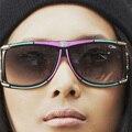 Новые Моды для Женщин, Роскошные Солнцезащитные Очки Марки Дизайнер Площади Негабаритных Очки Вождения Мужчин Очки Gafas Óculos де золь UV400