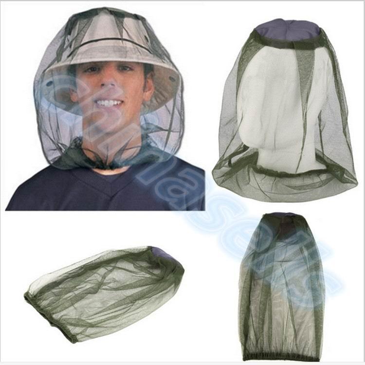 50 pçs ao ar livre ensino midge bug pesca acampamento protetor chapéu rosto malha mosquito cabeça inseto viagem mosquiteiro net