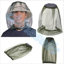 50pcs Insect Hat Bug Bee Mesh Head Net Face Protector For Men Portable Travel Kits Camping Outdoor Jungle Adventure