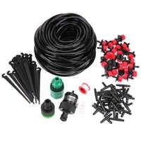 10/20/25M DIY Micro Drip Irrigation Kit System Plant Self Watering Garden Hose Tools Garden Watering