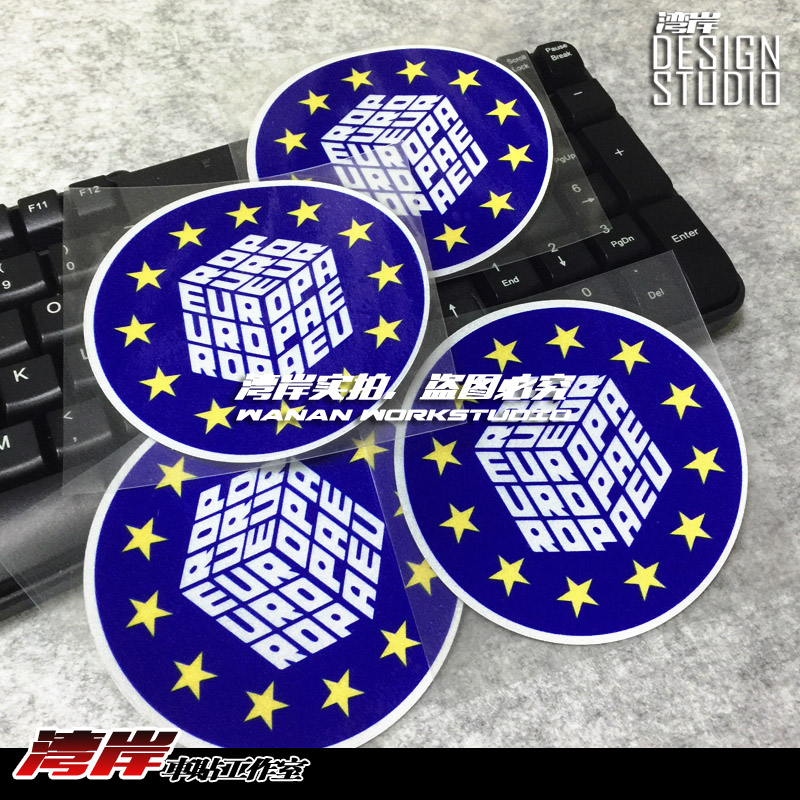 Hot Sale For Euro Car Reflective Sticker And Decals Cool Modified