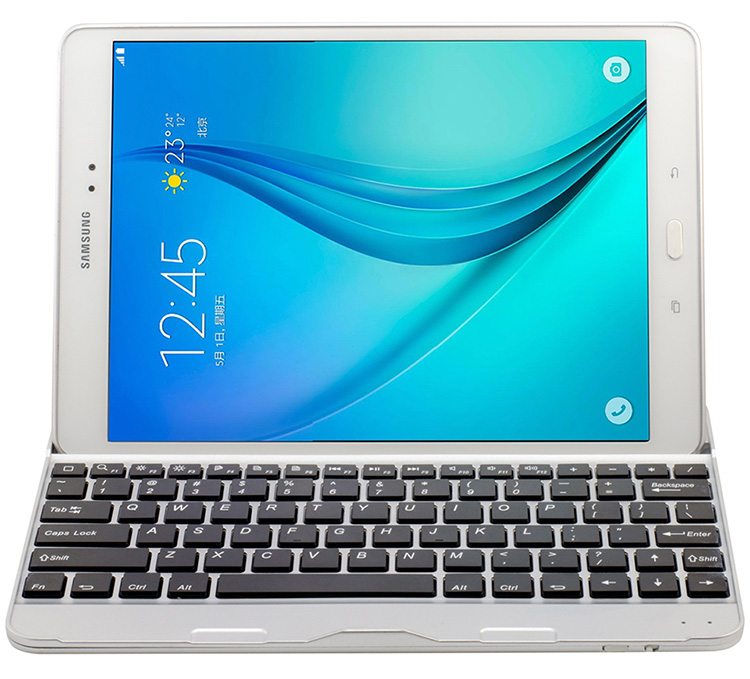 Bluetooth Keyboard for Samsung Galaxy Tab A 9.7 inch SM-P550 Tablet PC for Samsung Galaxy Tab A 9.7 inch SM-P550 Keyboard bluetooth keyboard for samsung galaxy note gt n8000 n8010 10 1 tablet pc wireless keyboard for tab a 9 7 sm t550 t555 p550 case
