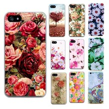 Flower Capas For Funda Iphone 5 5S SE Cases Luxury Phone Accessories Coque For capinha para Iphone 6 S 6S 7 8 Cases cheap Fitted Case Anti-knock Dirt-resistant Apple iPhones iPhone 7 iPhone 5s Iphone SE IPHONE 8 unicorn cute Quotes Messages