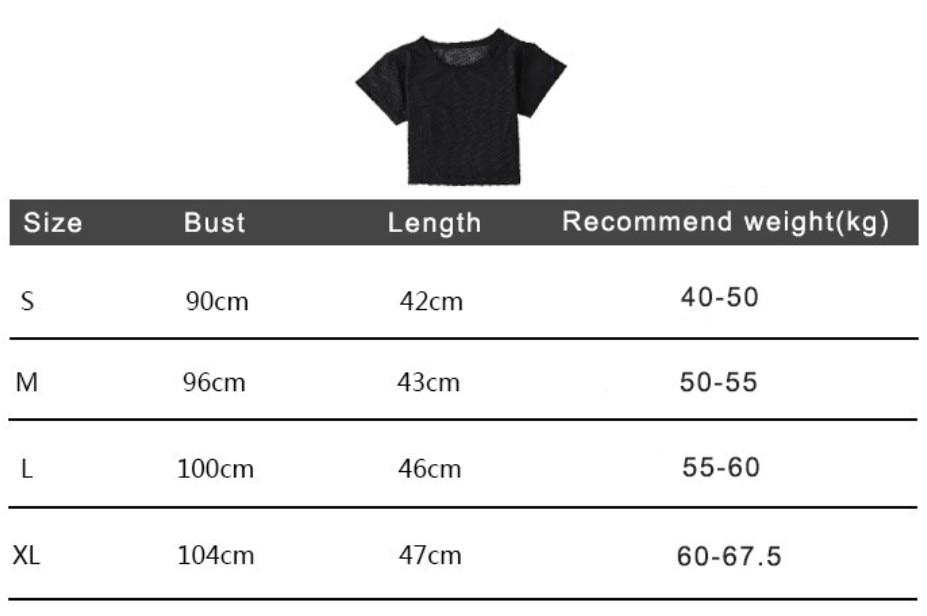size-shirts