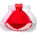 Menina vestido de festa de Natal vestido para a menina 2017 verão da menina formal vestidos de Dama de honra júnior meninas vestido do baile de finalistas vestidos de roupas de bebê