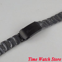PARNIS 20mm width PVD coated 316L stainless steel watch band watch strap bracelet Fit 40mm SUB men's watch S6