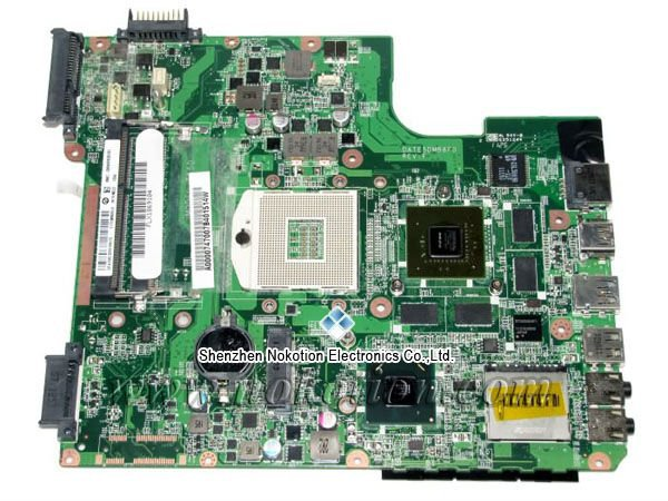 A000074700 for Toshiba L700 Laptop Motherboard DATE5DMB8F0 31TE5MB00L0 HM65 Mainboard Mother Boards Free Shipping laptop motherboard for toshiba a205 a200 v000108040 integrated ddr2 mainboard full tested free shipping