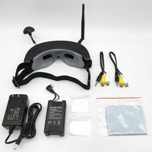 Atacado de alta qualidade 3d 5.8g 40ch fpv óculos com cabeça rastreamento reprodução porta hd para rc drone quadcopter fpv racer