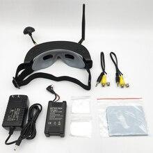 Rc 드론 quadcopter fpv 레이서에 대한 헤드 추적 hd 포트 재생과 도매 고품질의 3d 5.8g 40ch fpv 고글