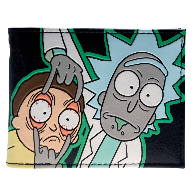 Rick and Morty Bifold Wallet DFT-2006 цена 2017
