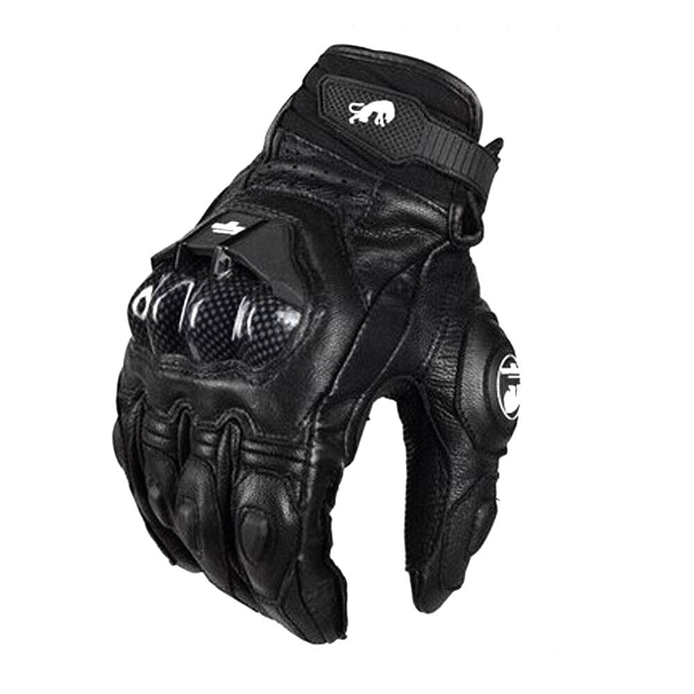 Rękawice motocyklowe mężczyźni Mesh wyścigi motocyklowe Motocross rękawice oddychające czarny prawdziwe prawdziwej skóry rycerz wyścigi na rowerze