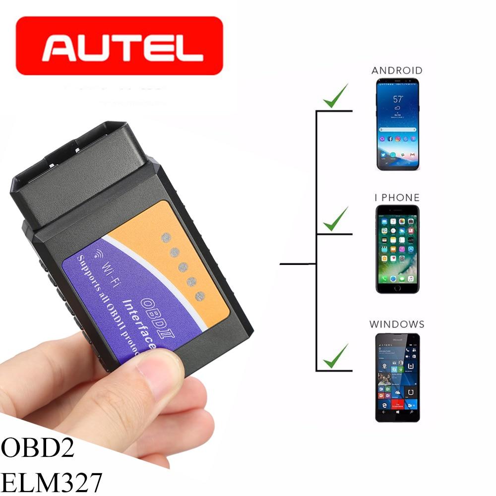 ELM327 V1 5 Wifi Bluetooth OBD2 Scanner OBD OBD 2 Bluetooth Adapter Scanner Automotivo elm327 wifi