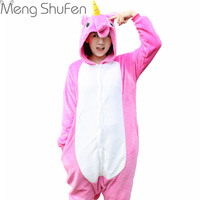 Wholesale Sacred Pegasus Rose Red Tenma Pajamas Cute Cartoon Animal Onesie Sleepwear Unisex Adult Homewear