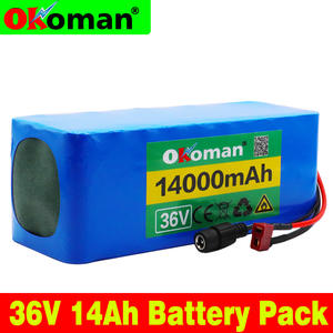 Okoman 10S4P 36 V 14Ah 500 W 14000 mAh 18650 lithium battery pack