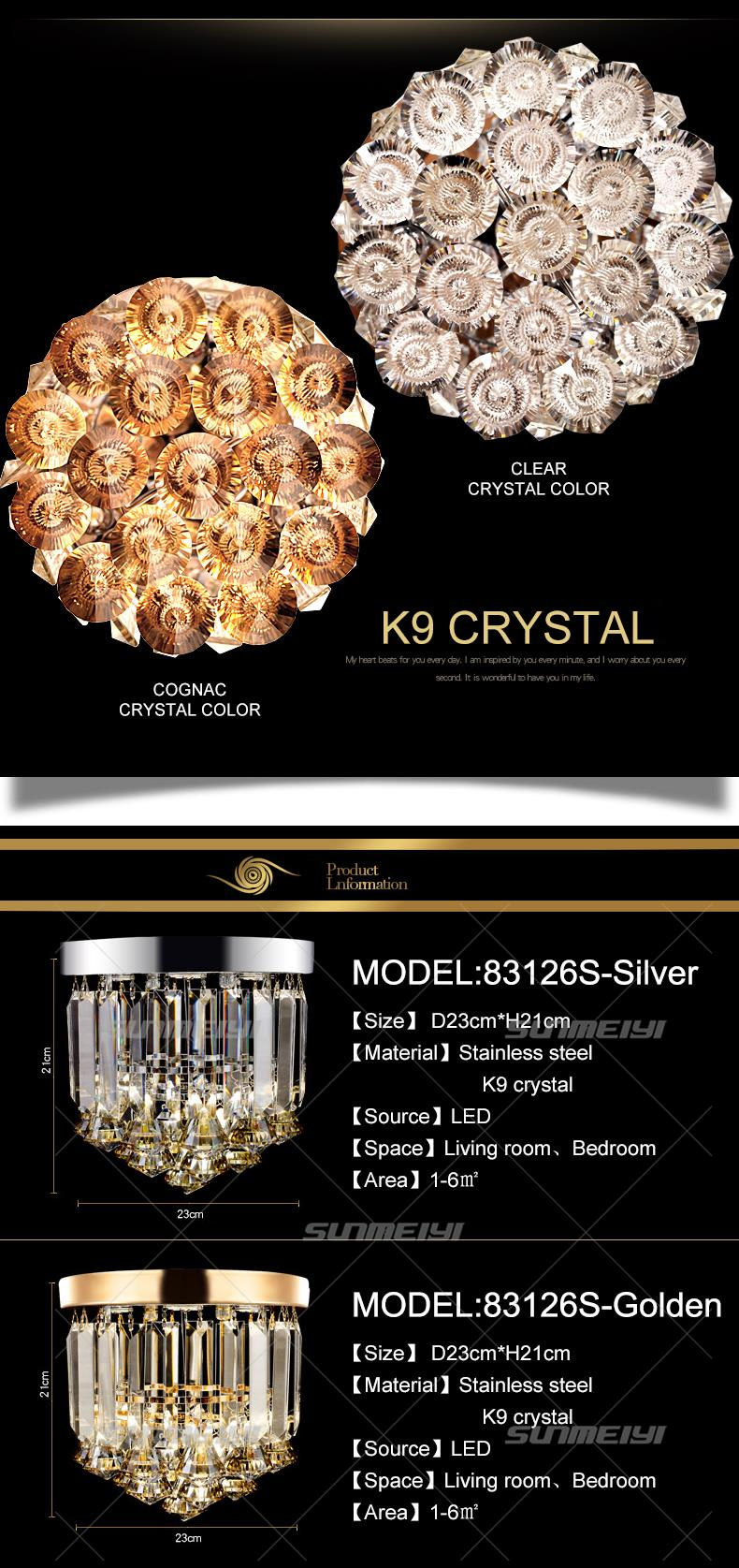 Crystal Ceiling Lights 04