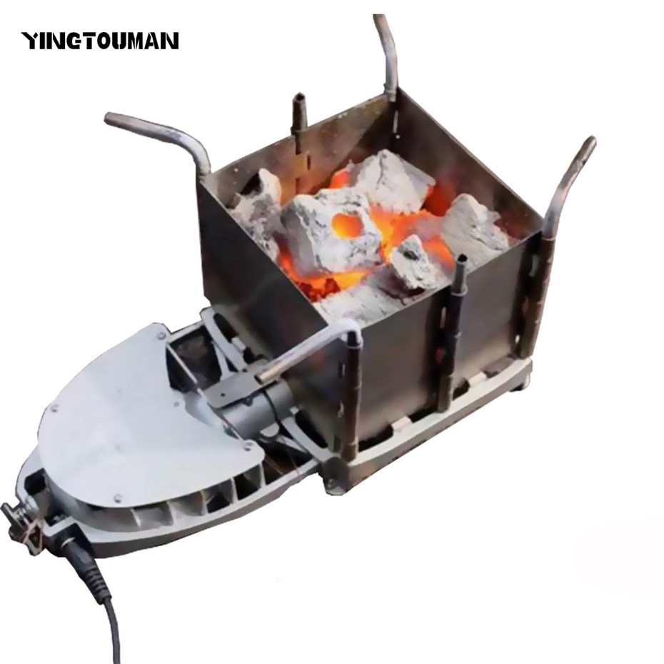 New Arrival BRS-116 Outdoor Camping Picnic Wood Burning Stove Foldable Firewood Furnace Charcoal BBQ Barbecue Grill Wood Stoves image