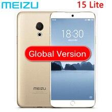 Küresel Meizu 15 lite M15 4 GB RAM 32 GB ROM 20.0MP 1920x1080 P Ekran Snapdragon 626 Octa çekirdek 5.46