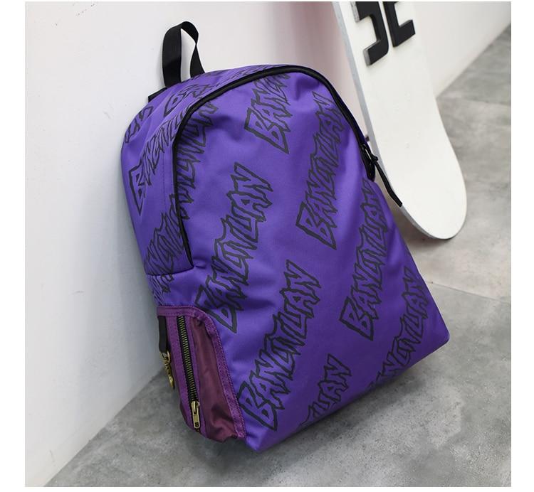 Sac à dos de sport violet