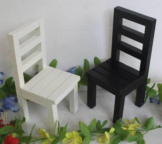 Mini ] pequeños muebles de madera y 1/6 accesorios de tiro de ...