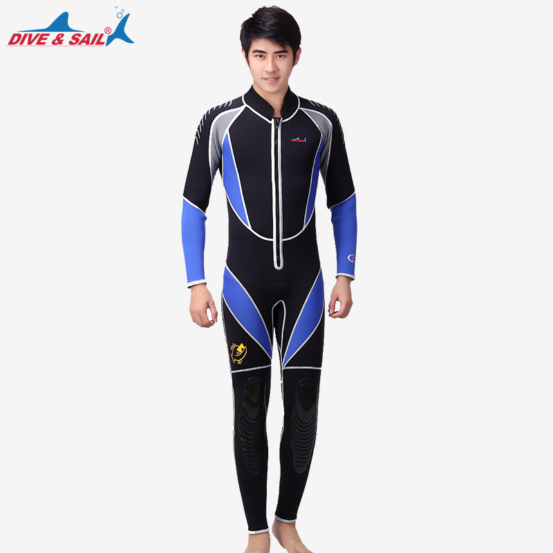 3MM Neoprene Long Sleeved Jumpsuit For Men Wetsuit Scuba Dive Jacket Wet Suit Top Winter Swim Warm Surf Upstream3MM Neoprene Long Sleeved Jumpsuit For Men Wetsuit Scuba Dive Jacket Wet Suit Top Winter Swim Warm Surf Upstream