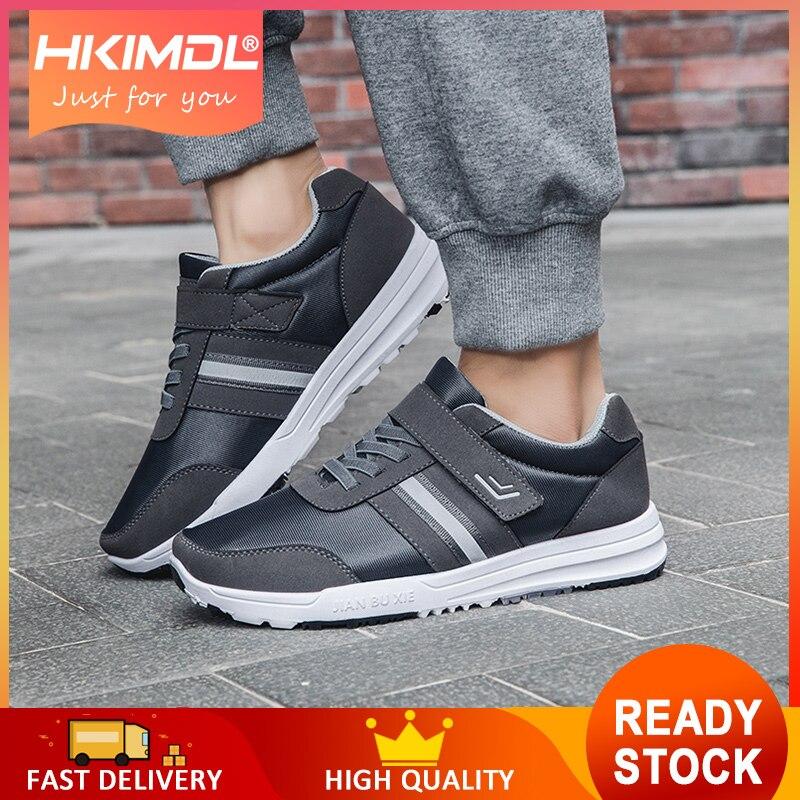 4672b551b Повседневная обувь мужские дышащие удобные модные 2019 мужская одежда-устойчивые  дешевле легкие кроссовки массажные туфли