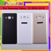 10Pcs/lot For Samsung Galaxy J5 2016 J510 J510F J510FN J510H J510G Housing Battery Door Rear Back Cover Case Chassis Shell 10pcs lot for samsung galaxy j5 prime on5 2016 g570 g570k housing battery cover back cover case rear door chassis shell