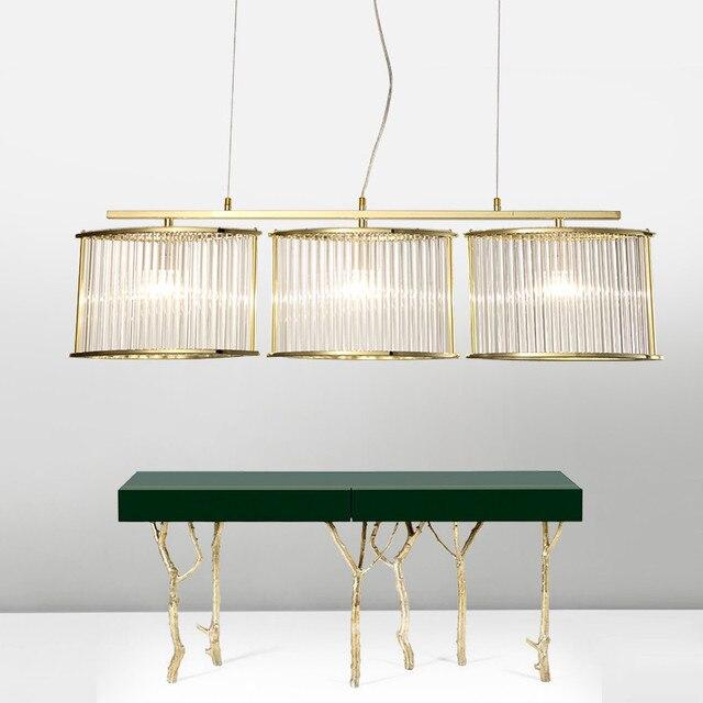 Postmodern Nordic Eenvoudige Mode Kristal Glas hangende verlichting ...