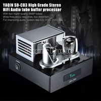 YAQIN SD CD3 6N8P Tube Amplifier Preamp Signal Upgrade Hi end Buffer Audio Processor For CD Player HI FI