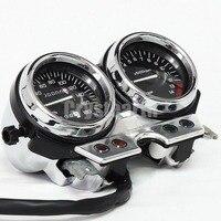 Motorcycle Gauge Clocks Speedometer Odometer Assembly Kit For Honda CB 400 CB400 sf 1993 1994 NC31