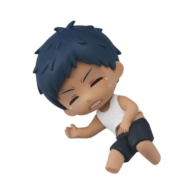 Japanese Anime kuroko no basket original Capsule toys sleeping Aomine Yukio murasakibara Ryo Himuro 5 sets gashapon figures 1
