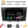 7 Quad Core Android 7 1 1 OS Special Car DVD For Peugeot 408 2010 2011