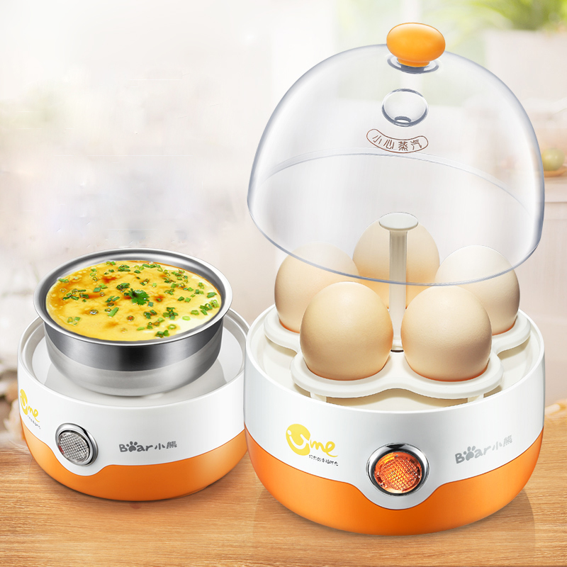 Bear ZDQ-2201 Egg Boiler Automatic Power Off Steamer  Single Layer Multifunction Stainless Steel Boiled Eggs Breakfast MachineBear ZDQ-2201 Egg Boiler Automatic Power Off Steamer  Single Layer Multifunction Stainless Steel Boiled Eggs Breakfast Machine