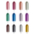 SEASONCARE metal Arte Esmalte de Uñas de Gel de Color Perla Clásica fragancia Laca de uñas de Gel de Larga Duración Led UV Gel de Capa de Base uñas