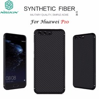 For Huawei P10 5 1 Cover Original Nillkin High Quality PC Synthetic Carbon Fiber Woven Pattern