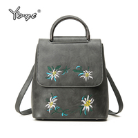 YBYT Brand 2018 New Vintage Casual Embroidery Women Satchels Multi Purpose Rucksack Female Shopping Bags Ladies