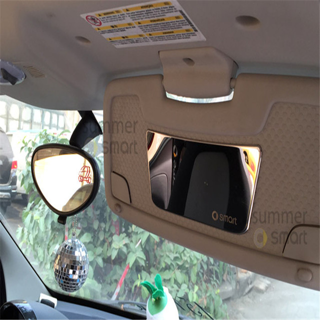 For Special Smart Car Accessories Visor Cosmetic Mirror Inside The