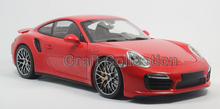 *Red 1/18 911 Turbo S 2013 Sport Car Limited Edition Luxury Vehicle Diecast Model Car Aluminum Die casting Products Miniature