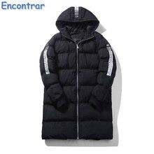 Encontrar 2017 New Winter Parka Coat Thick Warm Men Parkas Long Hooded Windproof Coat Male Cotton-Padded Plus Size 5XL , QA389