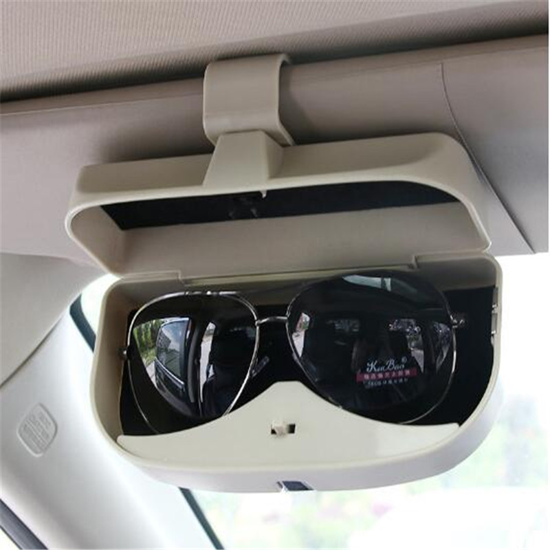 Car Sunglasses Glasses Storage Case Box Holder for Peugeot 206 307 406 407 207 208 308 508 2008 3008 4008 6008 301 408