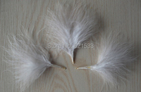 1KG/lot 6 10CM White BLOOD QUILL TURKEY MARABOU FEATHERS for earrings,hair pieces and bridal creations,wholesale