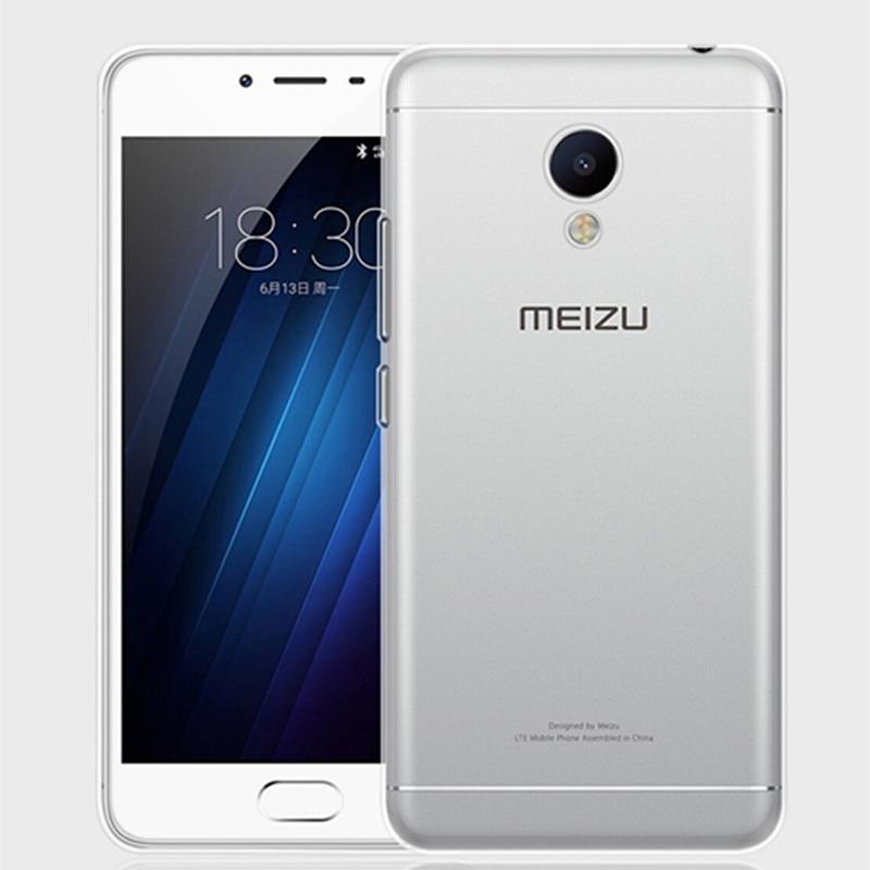 Volver shell case cubierta para meizu m3s mini soft tpu transparente clear case