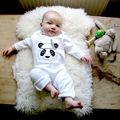 Top Baby Kids Boy Infant Jumpsuit Bodysuit Cotton Clothes Outfit Set Hot