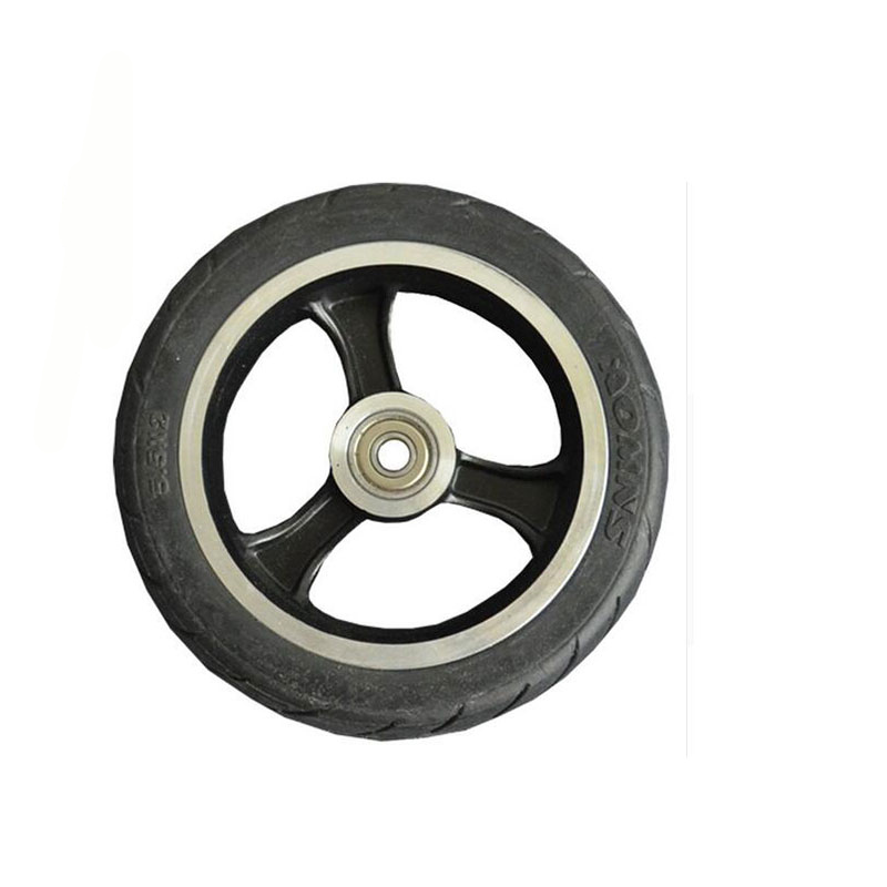 Factory 5.5 inch scooter PU Wheel&Tire for Wheelchair Rear Wheel with black scooter wheels factory high quality original wheels